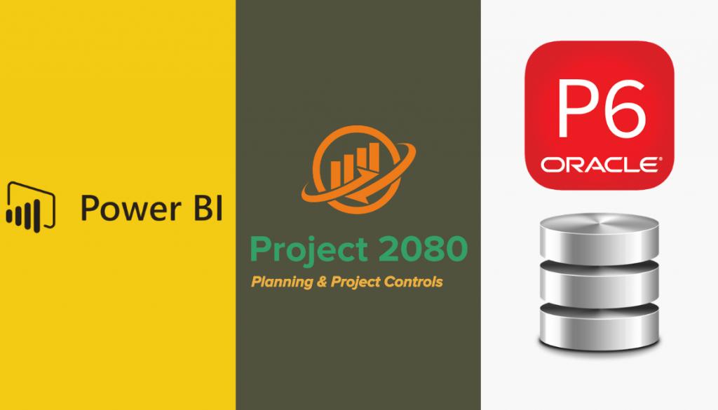 base de datos de primavera p6 project 2080 power bi