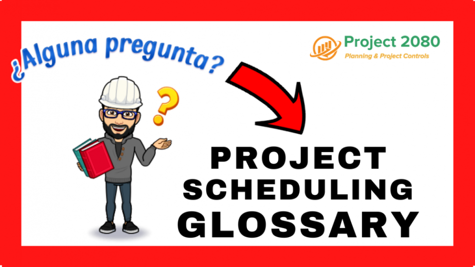 project scheduling glossary